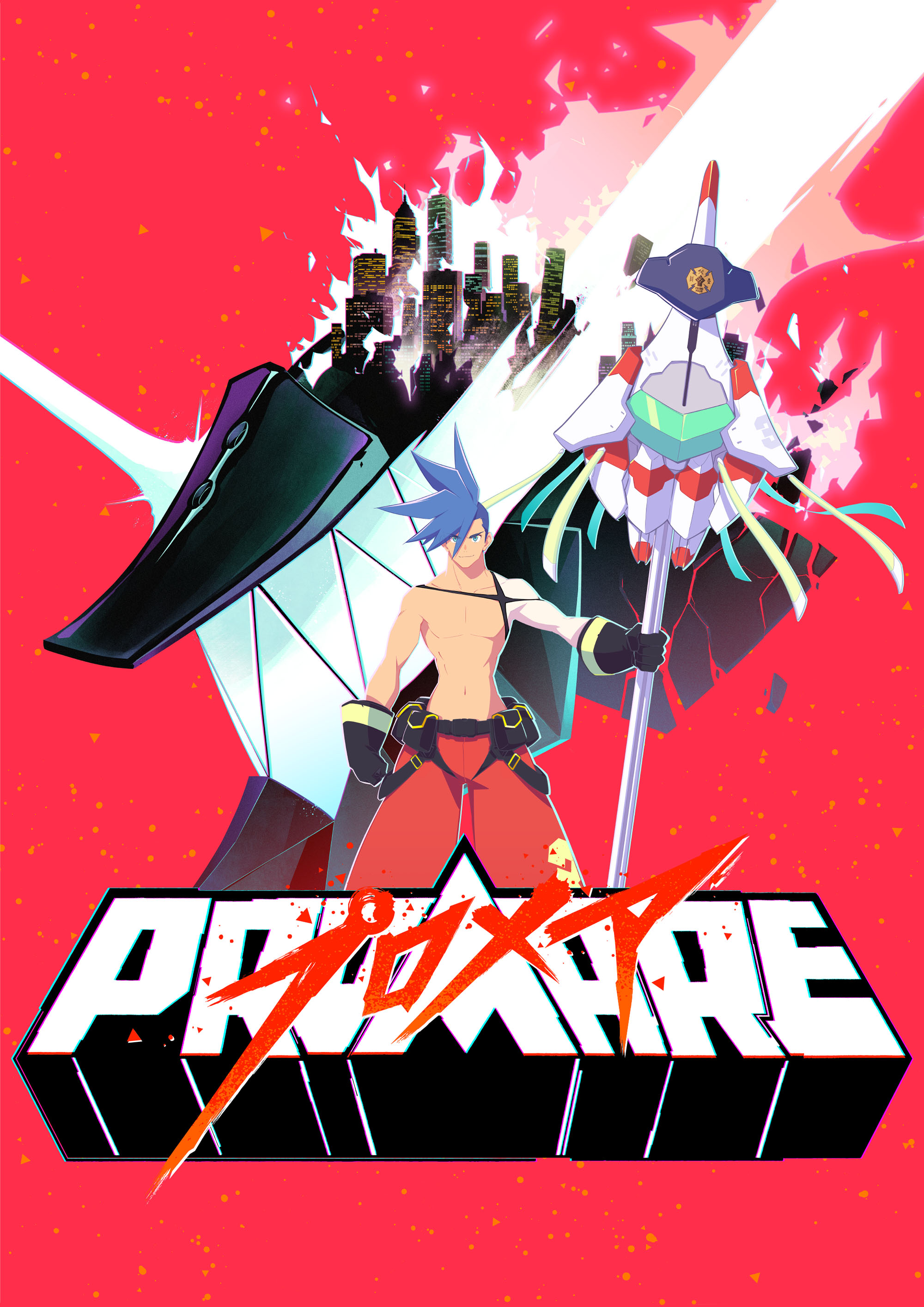 プロメア PROMARE TEASER VISUAL 01