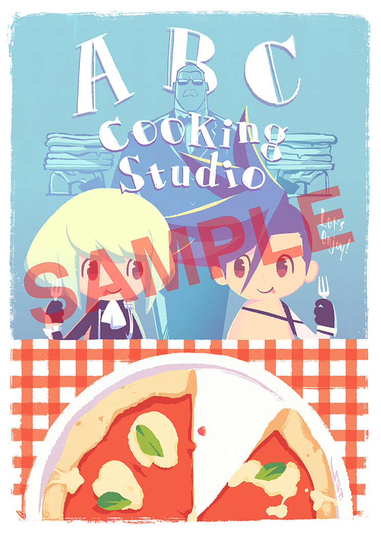 『プロメア』×「ABC Cooking Studio」コラボ決定!